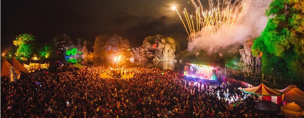 The penultimate glory of Sunday night. Photo credit: Shambala festival.