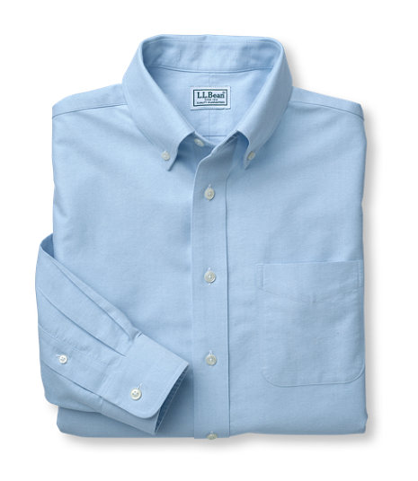 LL Bean - Wrinkle-Free Classic Oxford Cloth Shirt - Traditional Fit2.jpg