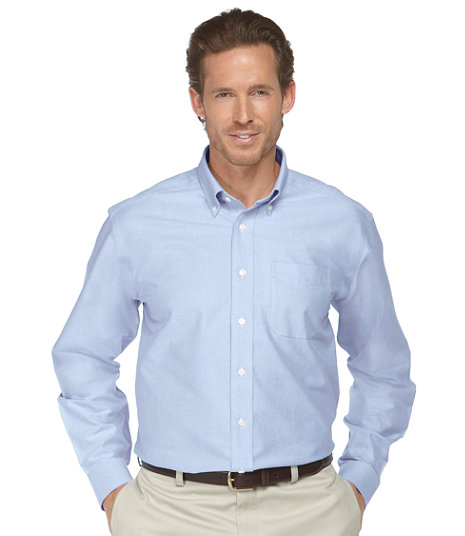 LL Bean - Wrinkle-Free Classic Oxford Cloth Shirt - Traditional Fit3.jpg