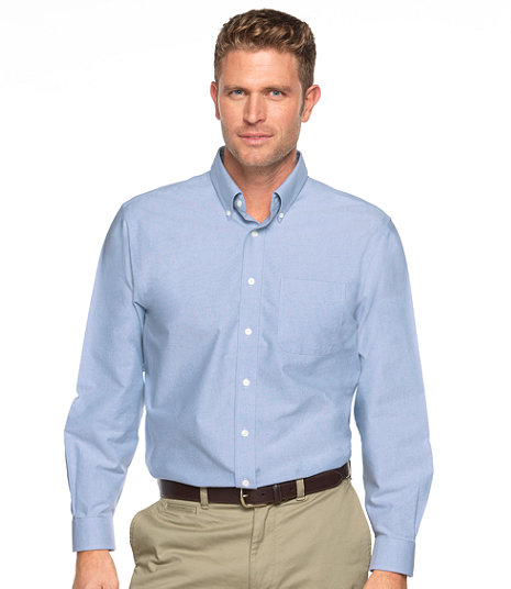 LL Bean - Wrinkle Free Classic Oxford Cloth Shirt - Slightly Fitted2.jpg