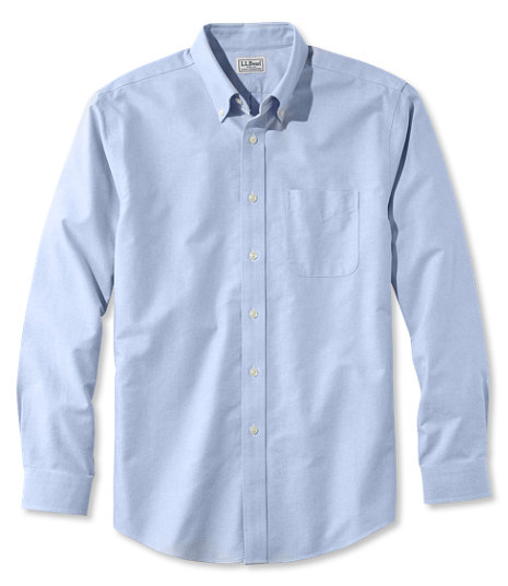 LL Bean - Wrinkle Free Classic Oxford Cloth Shirt - Slightly Fitted4.jpg
