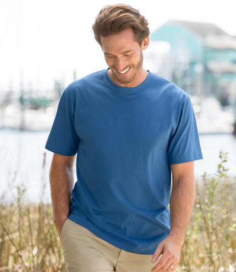 LL Bean - Carefree Unshrinkable Tee - Traditional Fit5.jpg