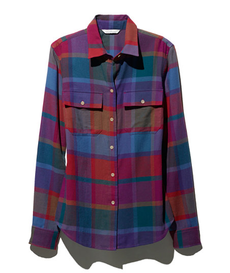 LL Bean - Signature Lightweight Flannel Shirt - Plaid1.jpg