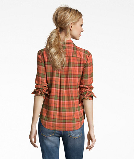 LL Bean - Signature Lightweight Flannel Shirt - Plaid4.jpg