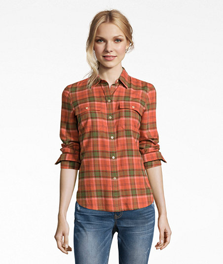 LL Bean - Signature Lightweight Flannel Shirt - Plaid3.jpg