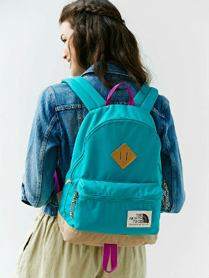 One of North Face's brighter options. Photo credit: Gurl.com