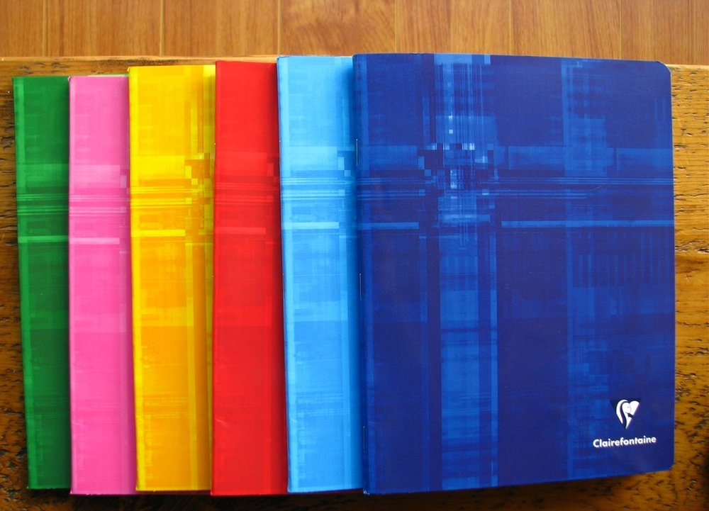 Clairefontaine's sustainably produced notebooks are a sure winner. Photo credit: Wonderpens.ca