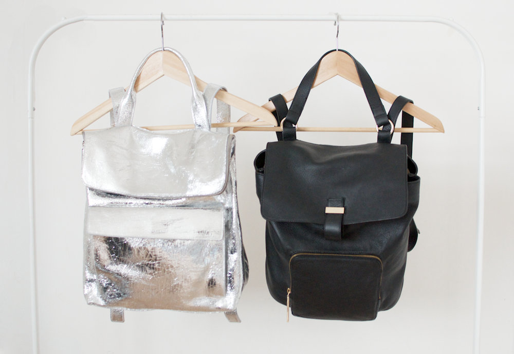 Novelty is great, in moderation. Save it for the silver backpack. Image: Geneva Vanderzeil, A Pair and A Spare, www.apairandasparediy.com