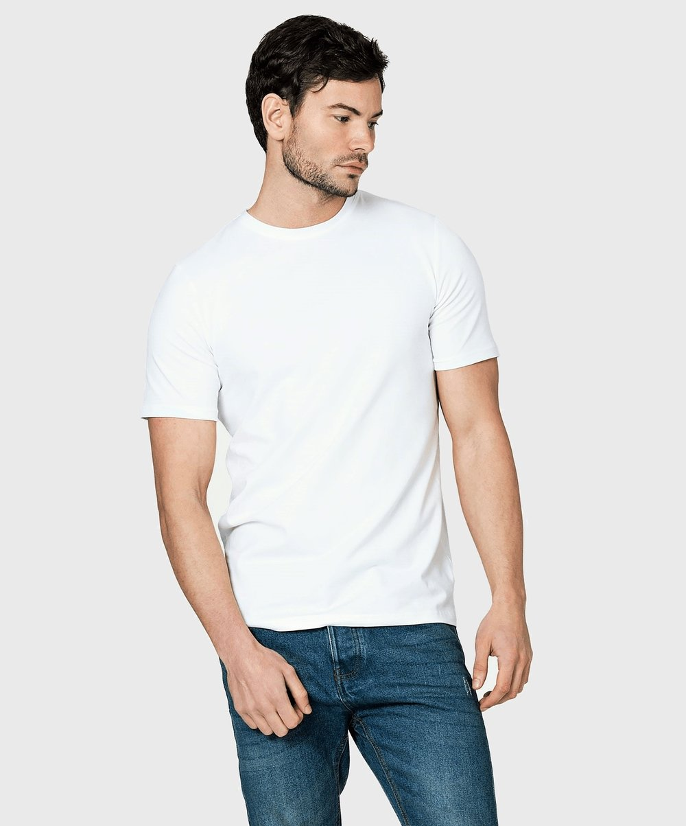 White T-Shirt Co Mens Round Neck Fitted Tee 1.jpg