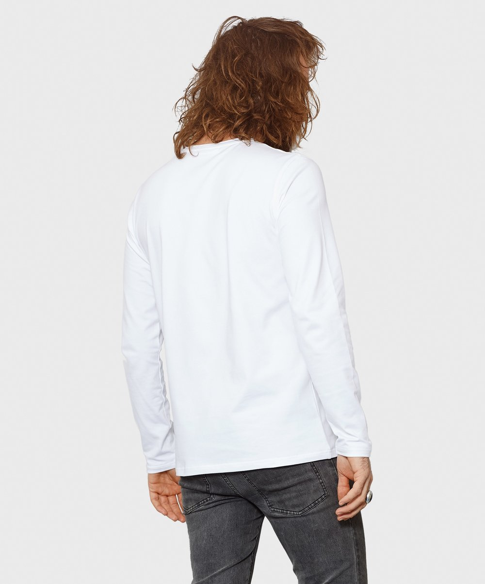 White T-Shirt Co Mens Long Sleeve Round Neck Fitted Tee 2.jpg