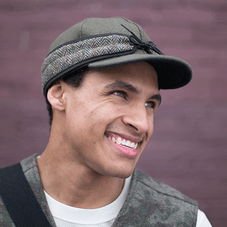 Men's Original Cap with Tweed3.png