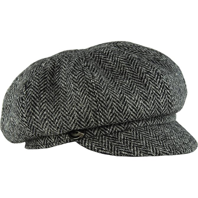 Women's Gatsby Tweed Cap1.png