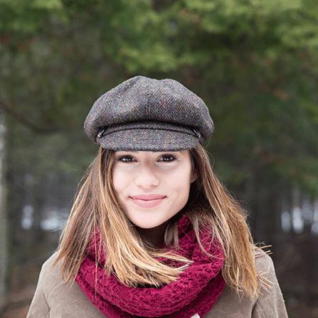 Women's Gatsby Tweed Cap4.png