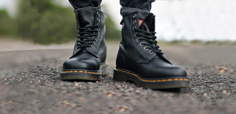Dr Martens For Life boots. Grab them while you can.