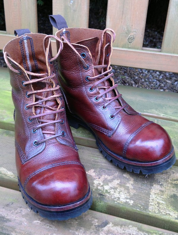 William Lennon work boots - only better with age. Photo: Stefano's Vintage and Retro.