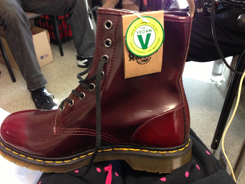 Dr Martens vegan 1460 Boot. Photo: Pinterest
