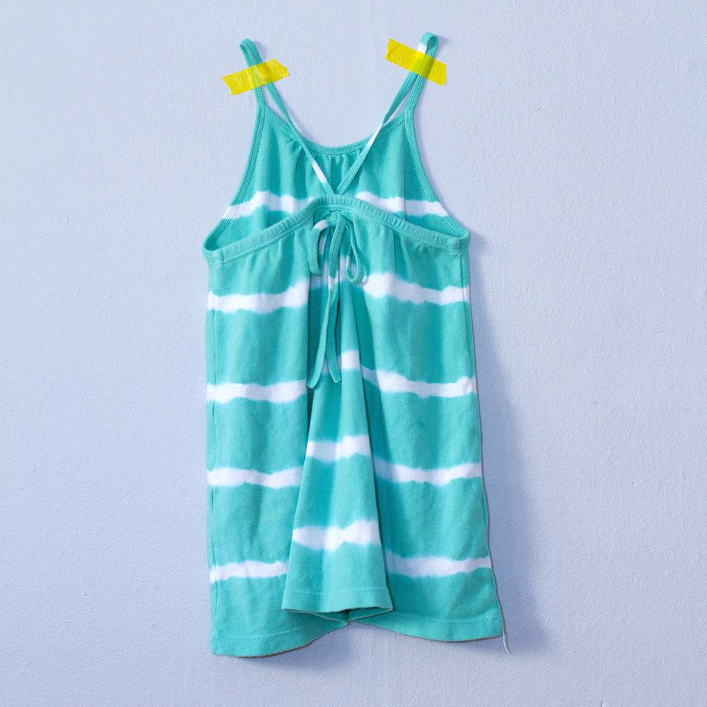 Nula Strap Dress Aqua Stripe 2.jpg