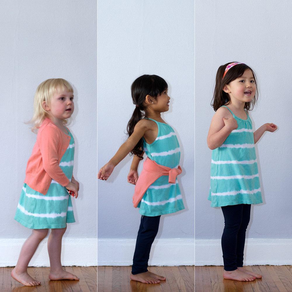 Nula Strap Dress Aqua Stripe 4.jpg