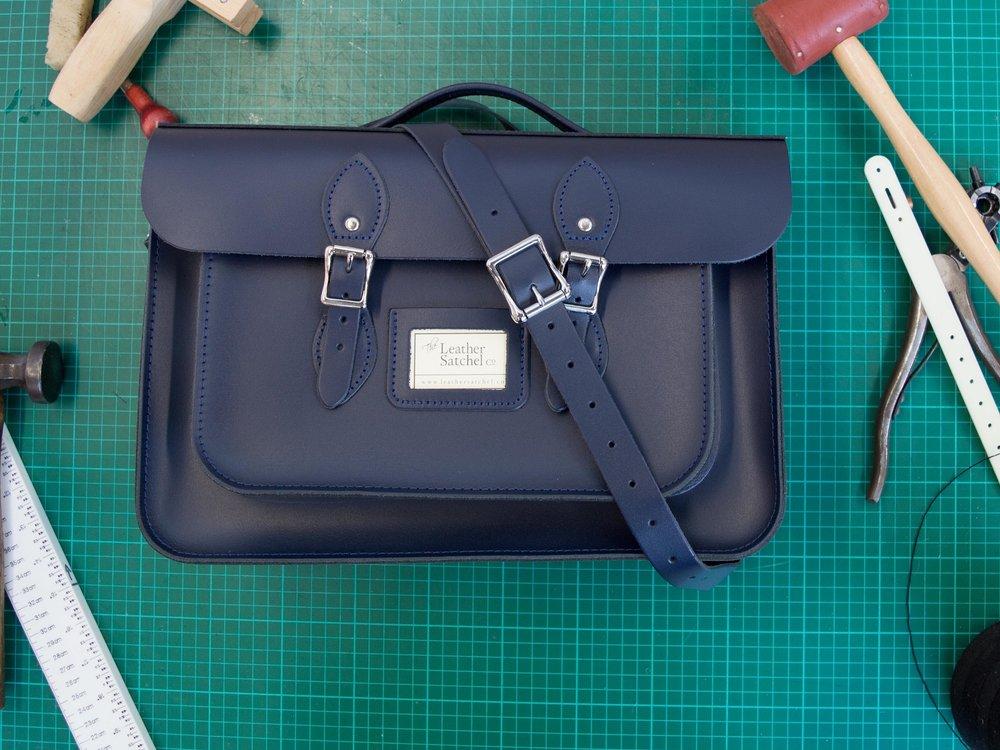 loch blue leather satchel.jpg