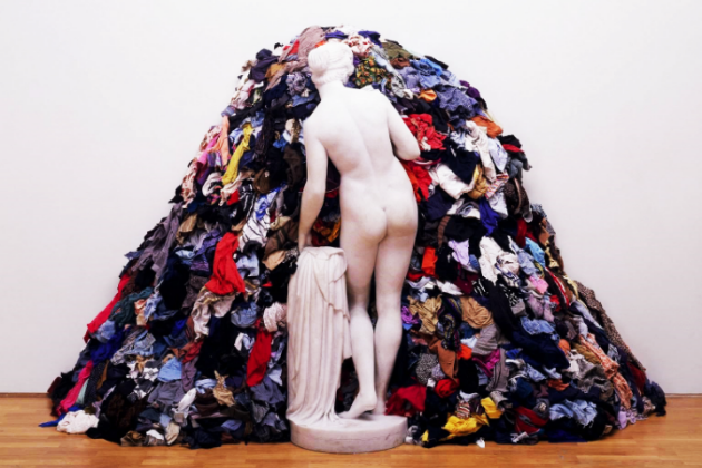 Clutter isn't just unsightly, it's mentally and spiritually draining too. (Picture Michelangeo Pistoletto)