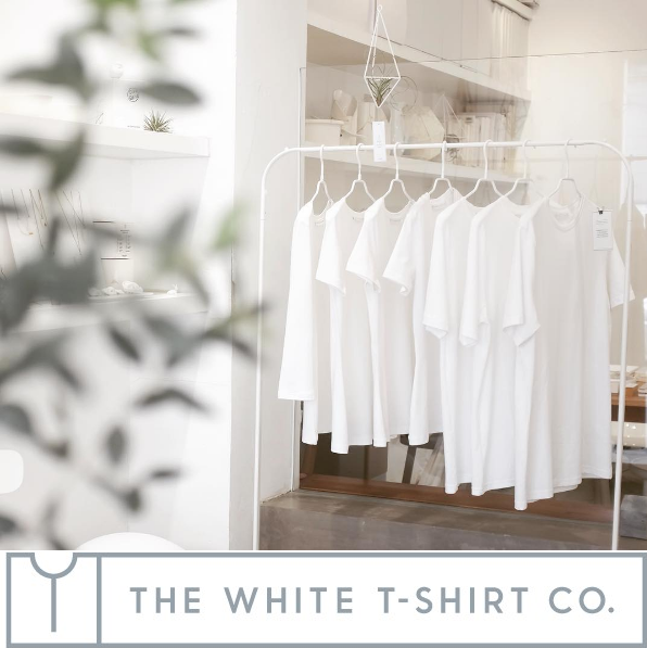 The White T-shirt Co –our top choice for durability and ethics, creating beautiful minimalist designs.