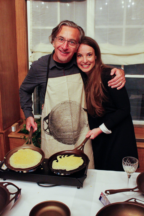 Tara and Mark Henry of Solidteknics both gave inspiring speeches on the night. We laughed, we cried... we ate crepes.