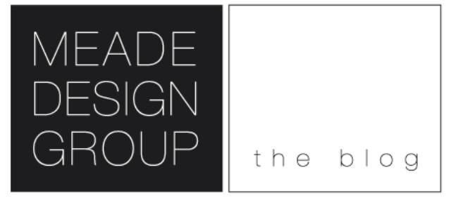 meade design blog logo