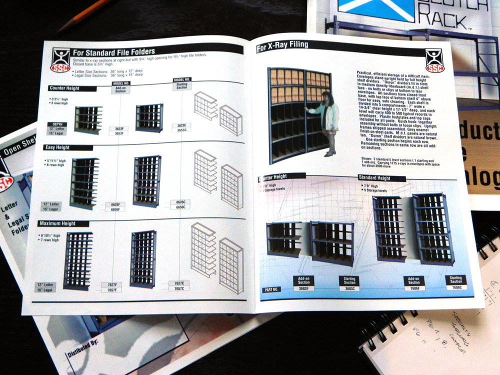 Specialty Shelving Corporation - Medical Record Filing System Catalog