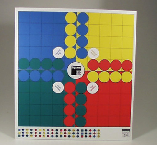 New board game graphic design based on game-play.