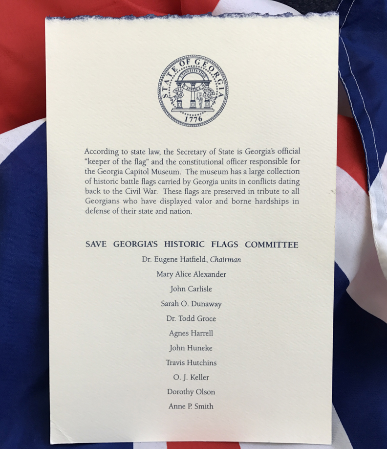 Program from ribbon cutting ceremony November 11, 1999.