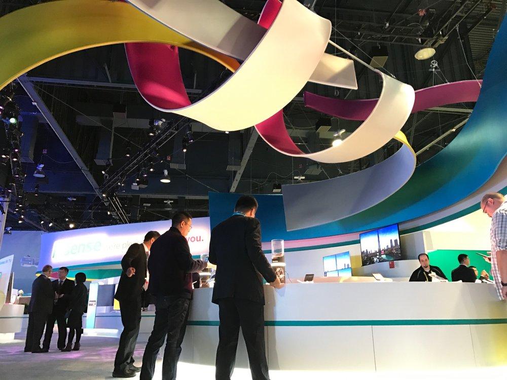 Hisense CES Booth