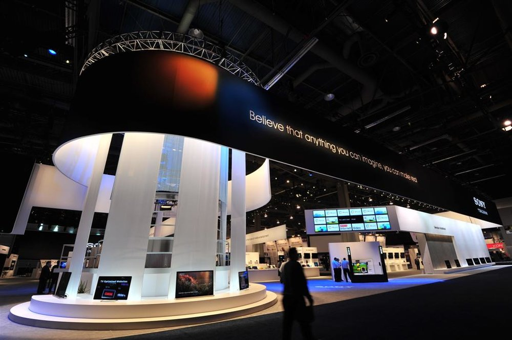 Sony CES Booth