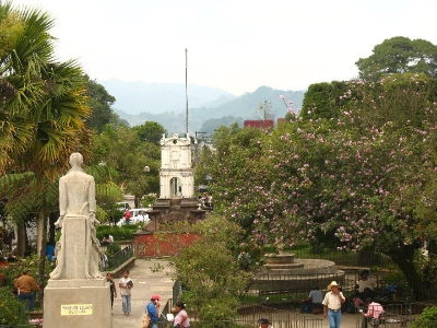 A view of Cobán.