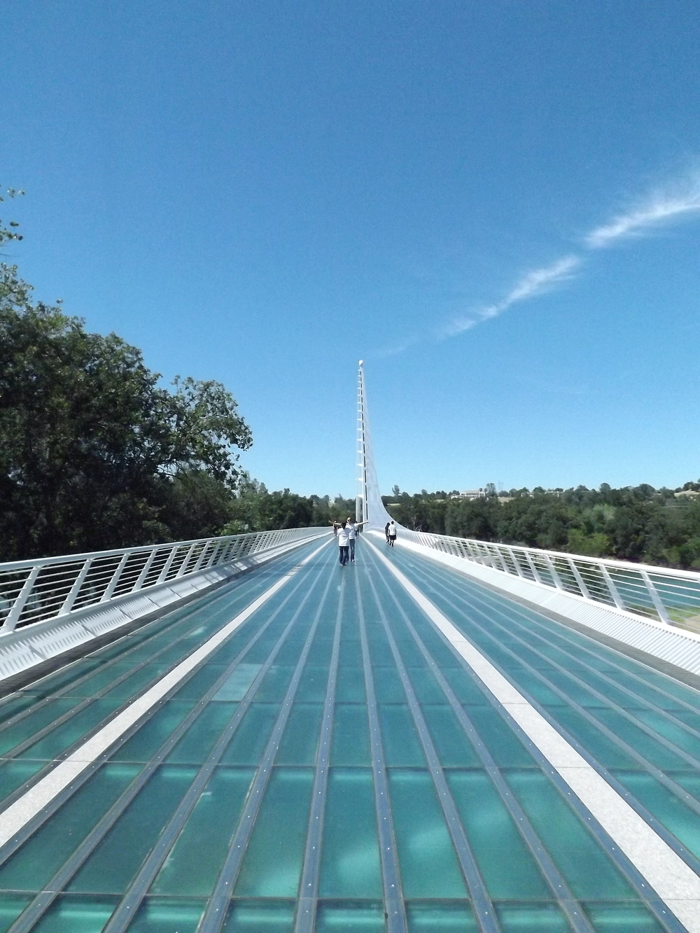 The Sundial Bridge.