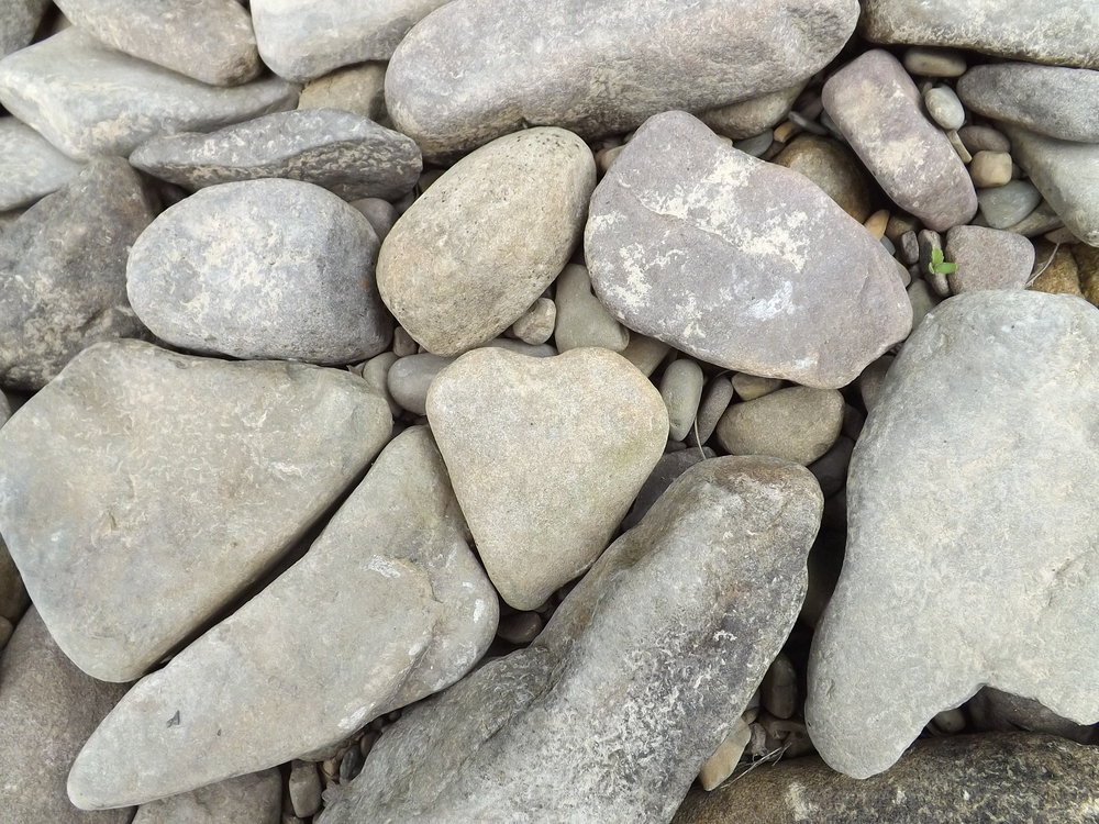 I'm a sucker for heart-shaped rocks.