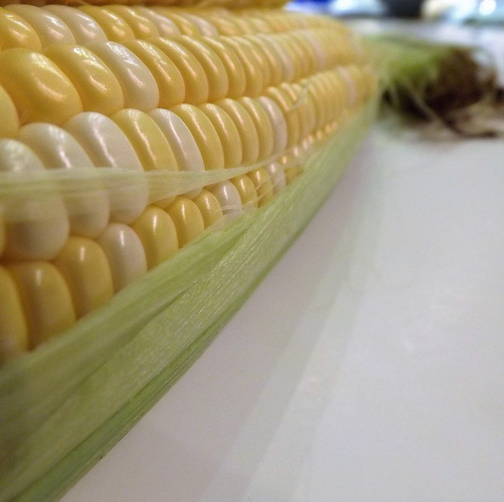 We feasted on summer delicacies like fresh corn...