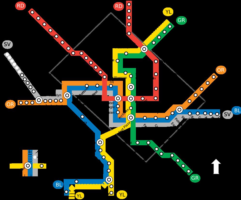 Science Data Data Science Reveals Metro Map
