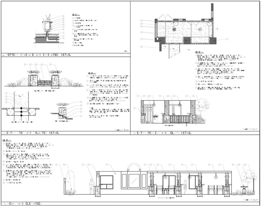San Juan craftsman design details.