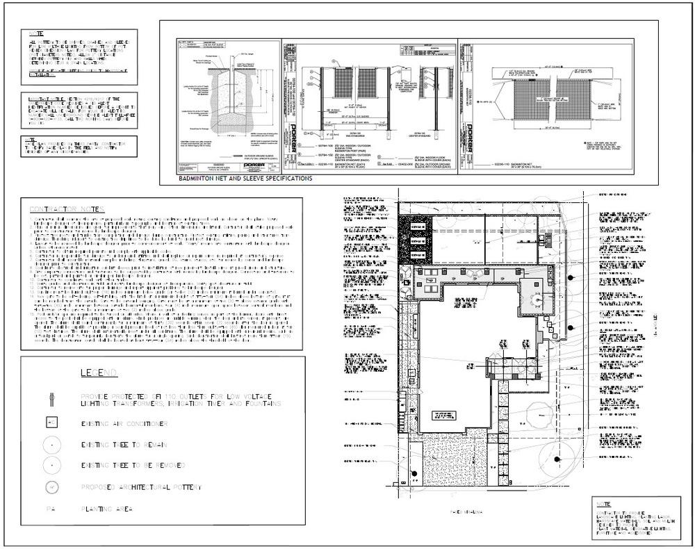 San Juan craftsman hardscape plan.