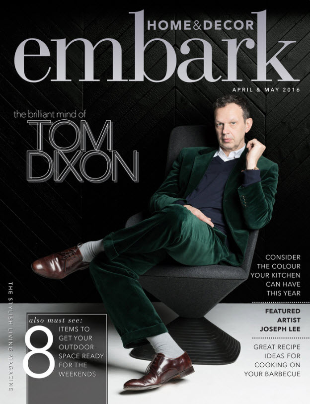 EMBARK MAGAZINE. Link to publication imagery