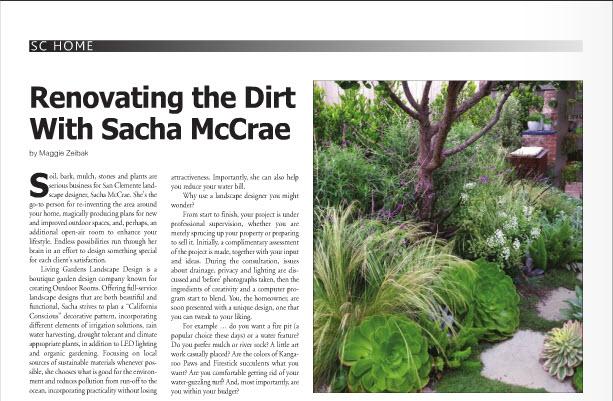 san clemente journal living gardens landscape design - Living Gardens Landscape Design