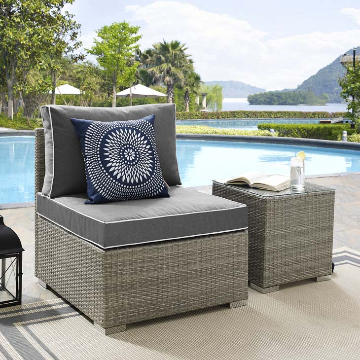 Palermo Lounge Collection  Enjoy the outdoors while benefiting from style and comfort. Palermo offers a rattan weave and cushions with contrasting French piping. Subtle style defines the Palermo collection.   Click to shop this collection.