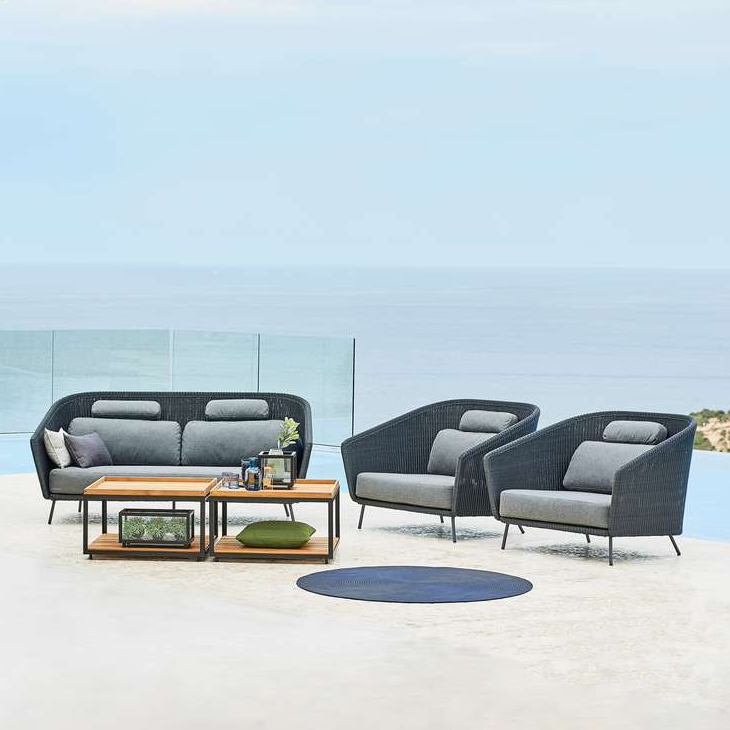 Mega Lounge Collection   A modern statement furniture with room for all your loved ones. Mega is designed by ByKato and is a unique piece of furniture. The stringent design and the cool Scandinavian colour scheme give a very urban look.   Click to shop this collection .