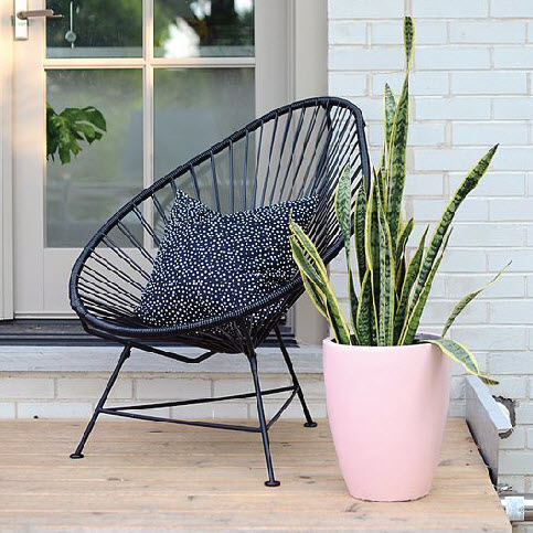 Retro Collection   These chairs will not only look great on your patio but they are amazingly comfortable and perfect for those long outdoor conversations with friends.   Click to shop this collection.