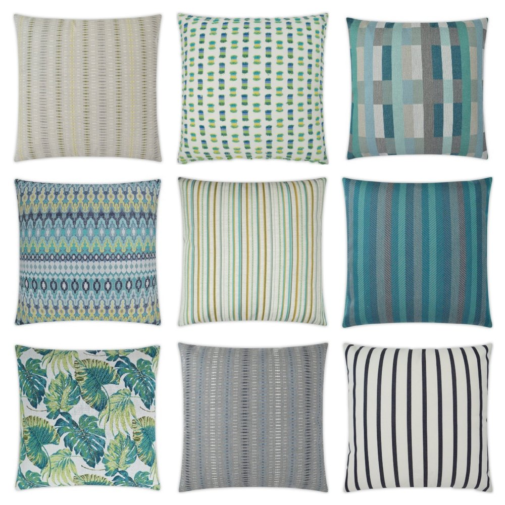 Ocean Series Outdoor Pillows