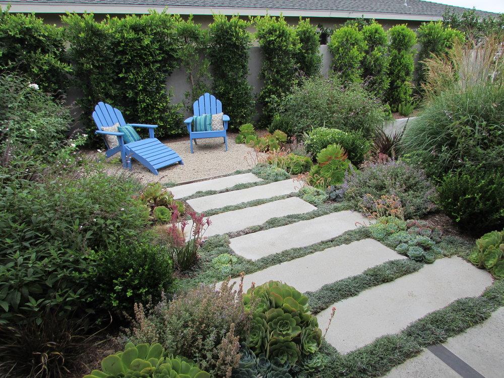 Courtyard Casual Garden imagery