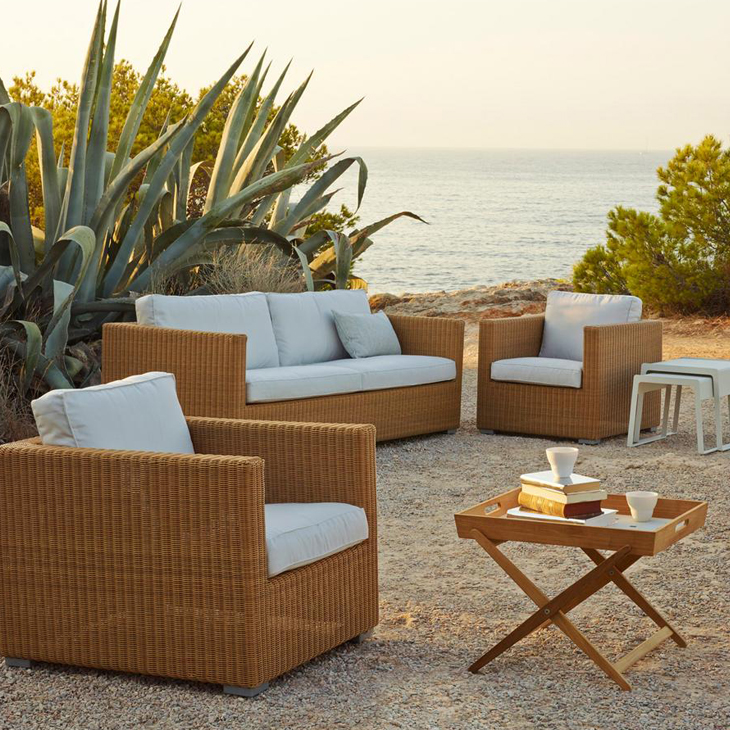 NEW Chester Natural Collection   The spacious Chester collection, available in 2 colors, is ideal for any outdoor environment. For all types of weather and maintenance-free.   Click to shop this collection.