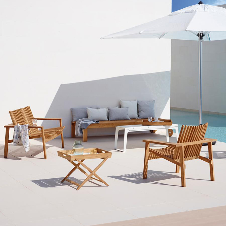 NEW Amaze Teak Collection   A place to unwind and relax.   Click to shop this collection .   Dining collection also available.
