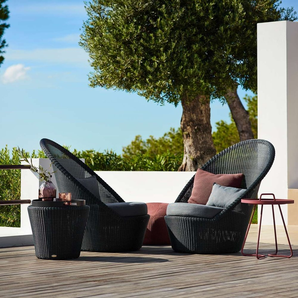 Kingston Graphite Collection   Designed with both comfort and practicality in mind, this luxurious all-weather the Kingston collection will spruce up any outdoor environment.   Click to shop this collection.