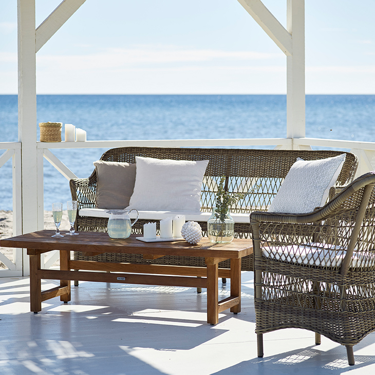 NEW Tahiti Lounge Collection   Luxury rattan.   Click to shop this collection.    Dining collection also available